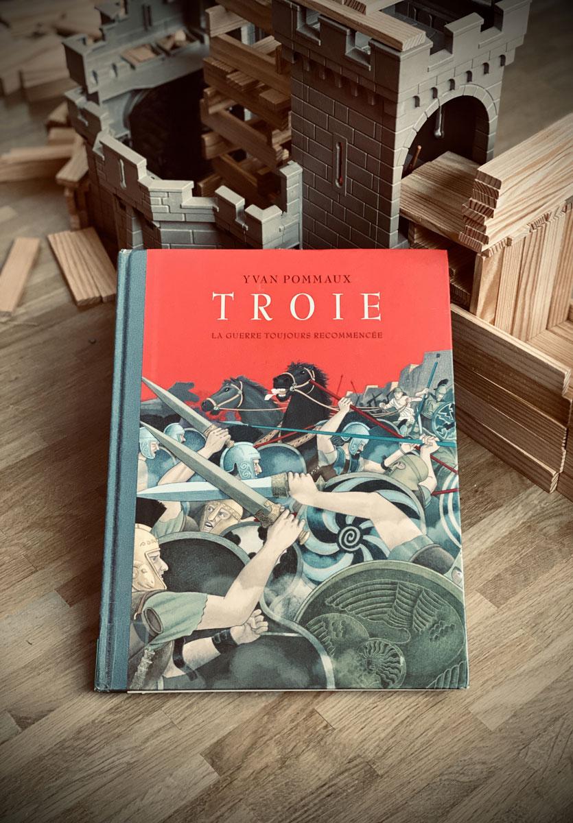 Troie, de Yvan Pommaux