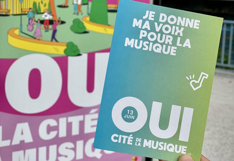 Oui à la Cité de la musique